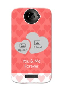 HTC Desire One X Couples Picture Upload Mobile Cover Design