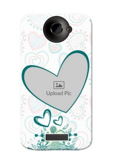 HTC Desire One X Couples Picture Upload Mobile Case Design
