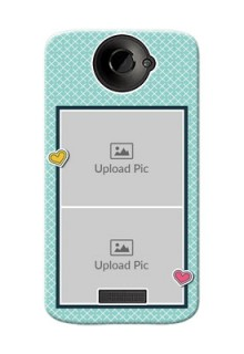 HTC Desire One X 2 image holder with pattern Design