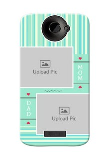 HTC Desire One X mom and dad image holder Design
