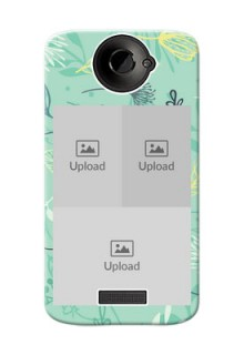 HTC Desire One X family is forever design with floral pattern Design