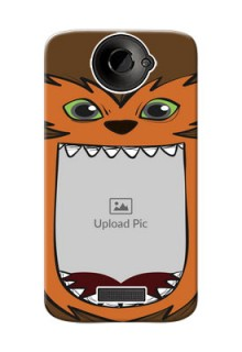 HTC Desire One X owl monster backcase Design Design