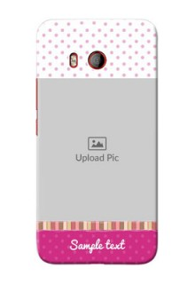HTC U11 custom mobile cases: Cute Girls Cover Design