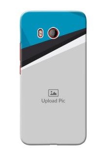 HTC U11 Back Covers: Simple Pattern Photo Upload Design