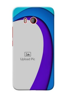 HTC U11 custom back covers: Simple Pattern Design