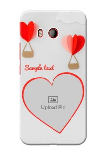 HTC U11 Phone Covers: Parachute Love Design