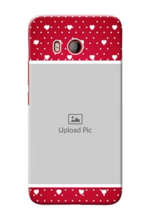 HTC U11 custom back covers: Hearts Mobile Case Design