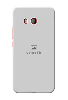 HTC U11 Custom Mobile Cover: Upload Full Picture Design