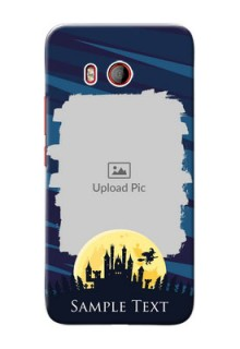 HTC U11 Back Covers: Halloween Witch Design