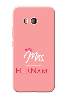 Htc U11 Custom Phone Case Mrs with Name