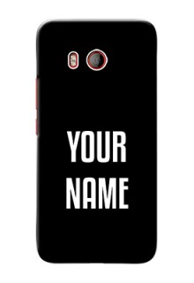 Htc U11 Your Name on Phone Case
