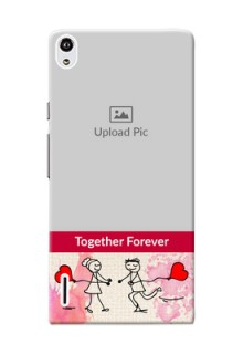 Huawei Ascend P7 Just You And Me Mobile Back Case Design