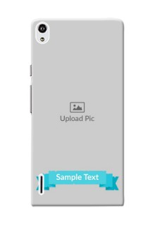 Huawei Ascend P7 Simple Mobile Back Cover Design