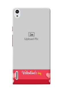 Huawei Ascend P7 valentines day couple Design