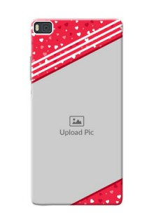 Huawei Ascend P8 Valentines Gift Mobile Case Design