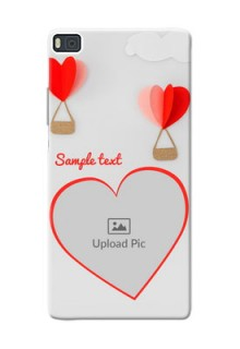 Huawei Ascend P8 Love Abstract Mobile Case Design