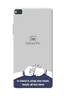 Huawei Ascend P8 best friends design Design Design