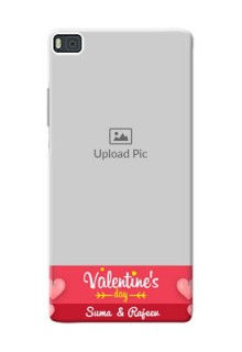 Huawei Ascend P8 valentines day couple Design