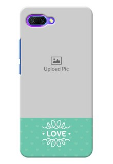 Huawei Honor 10 Lovers Picture Upload Mobile Cover Design