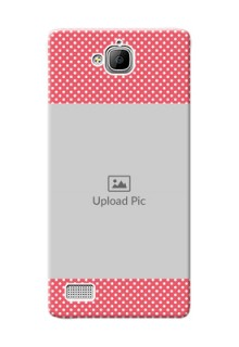 Huawei Honor 3C White Dots Mobile Case  Design