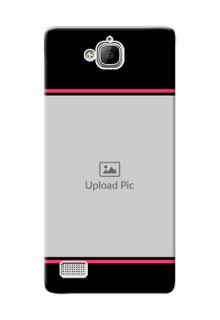 Huawei Honor 3C Photo With Text Mobile Case Design