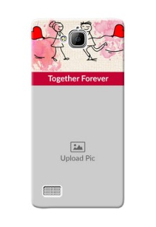 Huawei Honor 3C Just You And Me Mobile Back Case Design