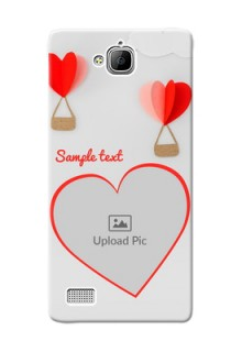 Huawei Honor 3C Love Abstract Mobile Case Design
