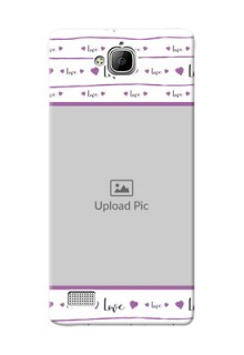 Huawei Honor 3C Couples Mobile Case Design