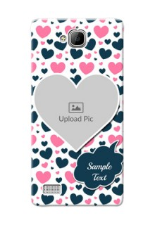 Huawei Honor 3C Colourful Mobile Cover Design