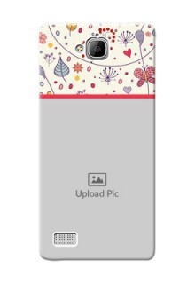 Huawei Honor 3C Premium Mobile Back Case Cover Design
