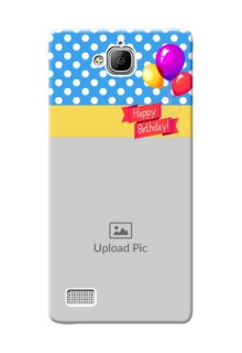 Huawei Honor 3C Happy Birthday Mobile Back Cover Design