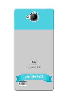 Huawei Honor 3C Simple Mobile Back Cover Design