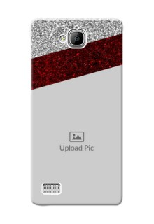 Huawei Honor 3C 2 image holder with glitter strip Design