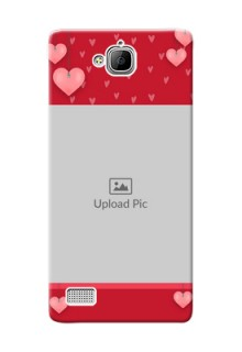 Huawei Honor 3C valentines day couple Design