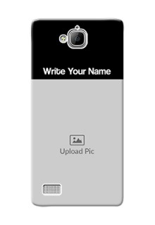 Honor 3C Photo with Name on Phone Case