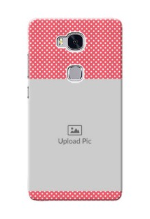 Huawei Honor 5X White Dots Mobile Case  Design