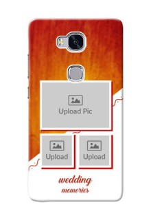 Huawei Honor 5X Wedding Memories Mobile Cover Design