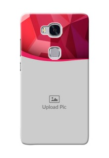 Huawei Honor 5X Red Abstract Mobile Case Design