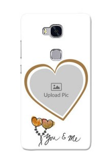 Huawei Honor 5X You And Me Mobile Back Case Design