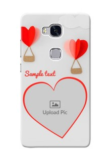 Huawei Honor 5X Love Abstract Mobile Case Design