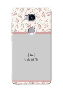Huawei Honor 5X Floral Design Mobile Back Cover Design