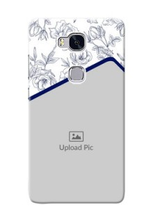Huawei Honor 5X Floral Design Mobile Cover Design
