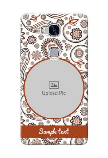 Huawei Honor 5X Floral Abstract Mobile Case Design