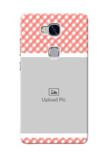 Huawei Honor 5X Pink Pattern Mobile Case Design