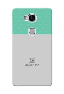 Huawei Honor 5X Lovers Picture Upload Mobile Cover Design