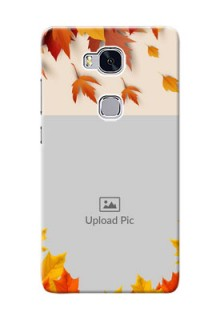 Huawei Honor 5X autumn maple leaves backdrop Design