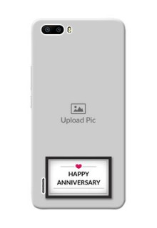 Huawei Honor 6 Plus Happy Anniversary Mobile Cover Design