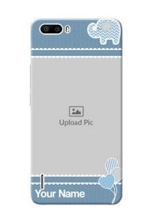 Huawei Honor 6 Plus kids design icons with  simple pattern Design Design