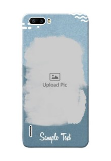 Huawei Honor 6 Plus grunge backdrop with line art Design Design