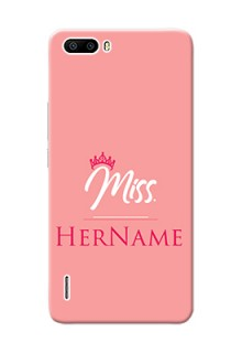 Honor 6 Plus Custom Phone Case Mrs with Name
